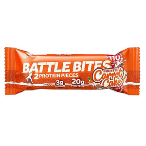 Battle Oats Battle Bites Carrot Cake