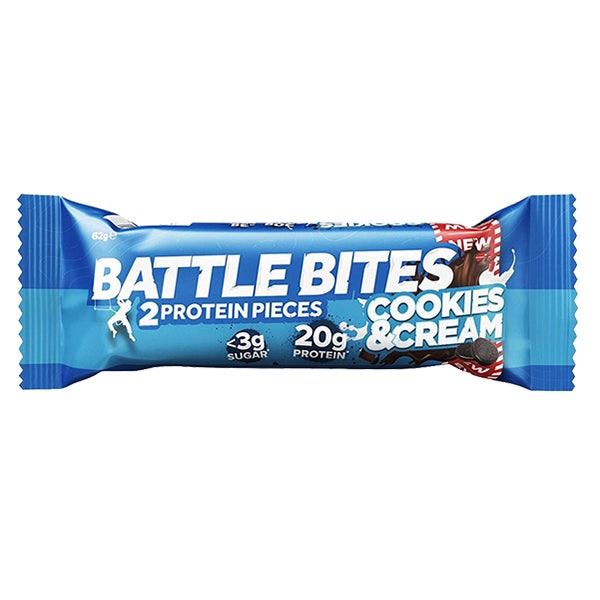Battle Oats Battle Bites Cookies & Cream