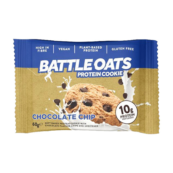 Battle Oats Protein Cookie Chocolate Chip