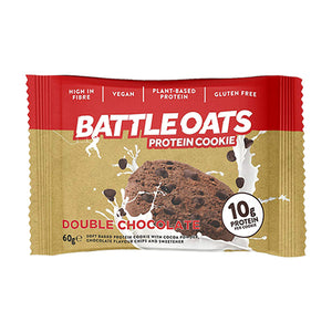 Battle Oats Protein Cookie Double Chocolate
