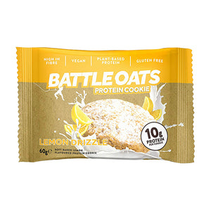 Battle Oats Protein Cookie Lemon Drizzle