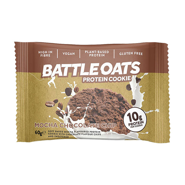 Battle Oats Protein Cookie Mocha Chocolate Chip