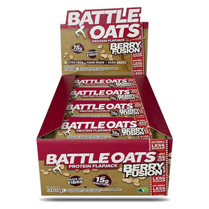 Battle Oats Protein Flapjack Berry Fusion