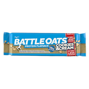 Battle Oats Protein Flapjack Cookies & Cream