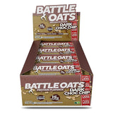 Battle Oats Protein Flapjack Dark Choc Chip-Box of 12