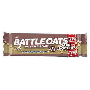 Battle Oats Protein Flapjack Dark Choc Chip