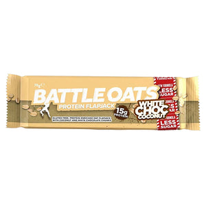 Battle Oats Protein Flapjack White Chocolate Coconut
