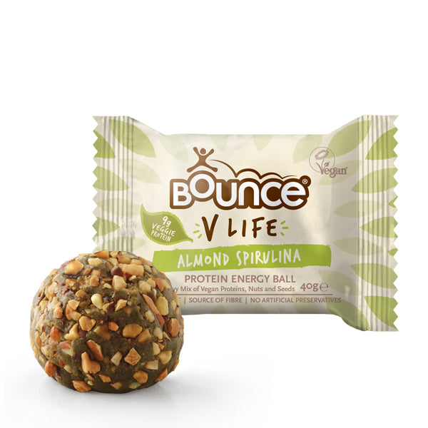 Bounce 'V LIFE' Protein Energy Ball Almond Spirulina