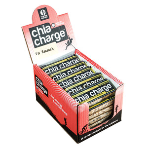 Chia Charge Flapjack Banana-Box of 20