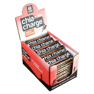 Chia Charge Flapjack Salted Caramel-Box of 20