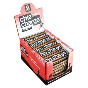 Chia Charge Flapjack Sea Salt Flakes-Box of 20