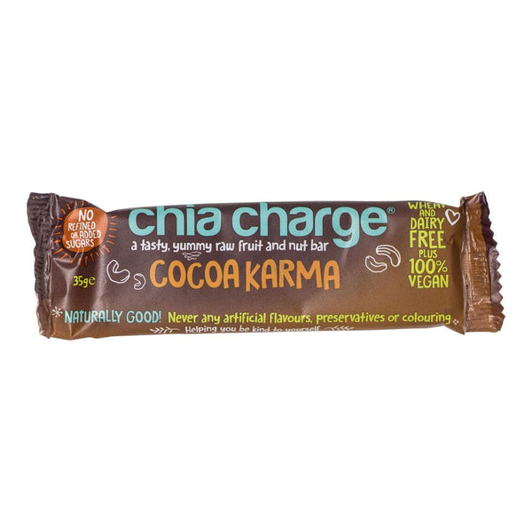 Chia Charge Cocoa Karma Flapjacks (please see notes)