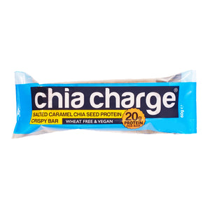 Chia Charge Protein Crispy Bar Salted Caramel