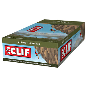 Clif Bar Energy Bar Alpine Muesli Mix-Box of 12
