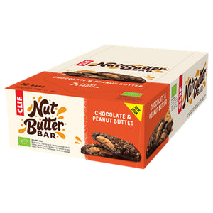 Clif Bar Nut Butter Filled Chocolate Peanut Butter-Box of 12
