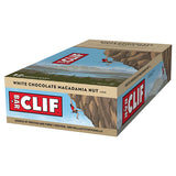 Clif Bar Energy Bar White Choc Macadamia-Box of 12