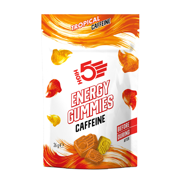 High5 Energy Gummies Caffeine Tropical