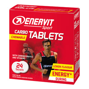 Enervit Sport Carbo Tablets Lemon