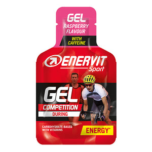 Enervit Sport Energy Gel Raspberry With Caffeine