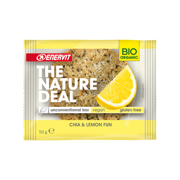 Enervit The Nature Deal unconventional bar Chia & Lemon Fun