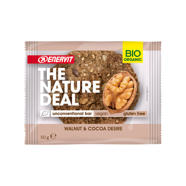 Enervit The Nature Deal Unconventional Bar Walnut & Cocoa Desire