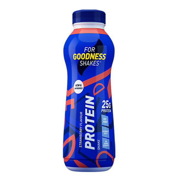 For Goodness Shakes High Protein Shake Strawberry