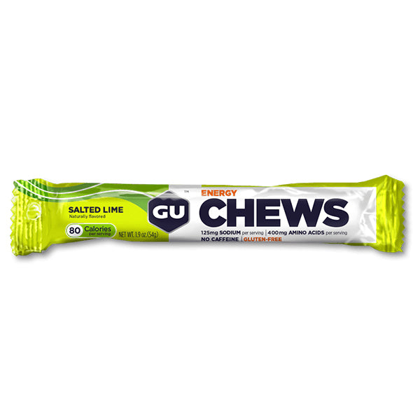 GU Energy Chews Salted Lime