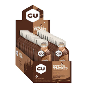 GU Energy Gel Campfire S'mores Box of 24
