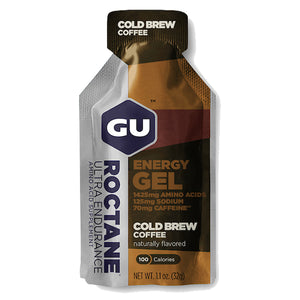 GU Roctane Energy Gel Cold Brew Coffee