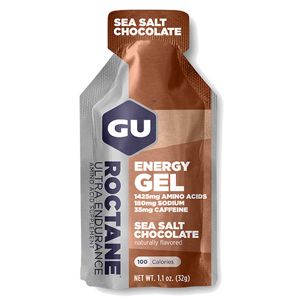 GU Roctane Energy Gel Chocolate Sea Salt