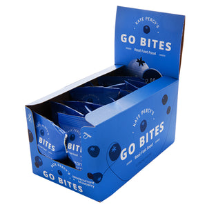 Go Faster Food Go Bites Blackcurrant & Blueberry + Protein Box of 12