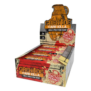 Grenade Carb Killa Bar White Chocolate Salted Peanut-Box of 12