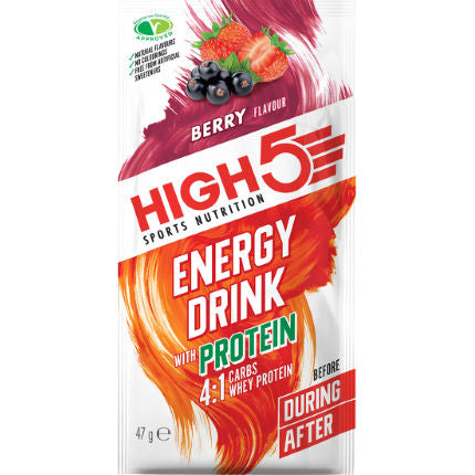 High5 Energy Drink with Protein Berry
