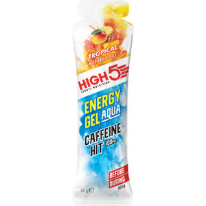 High5 Energy Gel Aqua Caffeine Hit Tropical
