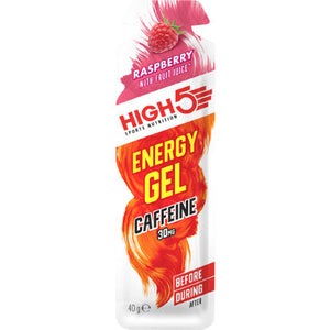 High5 Energy Gel Caffeine Raspberry