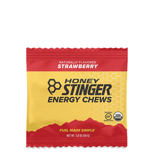 Honey Stinger Organic Energy Chews Strawberry