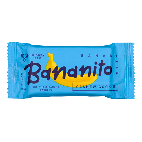 Mighty Bee Bananito Bar Cashew Cookie