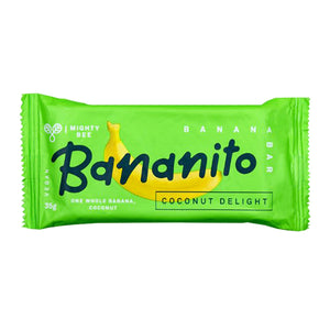 Mighty Bee Bananito Bar Coconut Delight