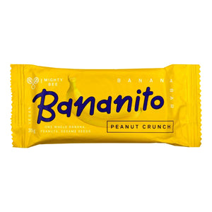 Mighty Bee Bananito Bar Peanut Crunch