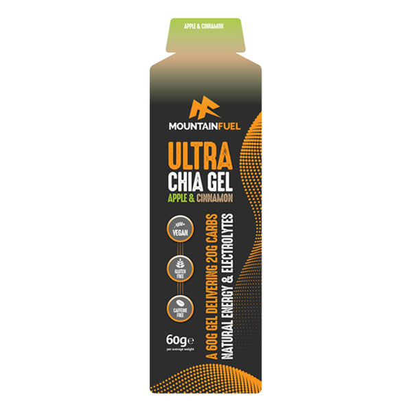 Mountain Fuel Ultra Chia Gel Apple & Cinnamon