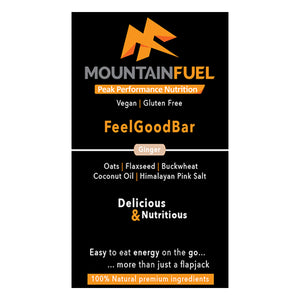 Mountain Fuel Feel Good Bar Double Ginger