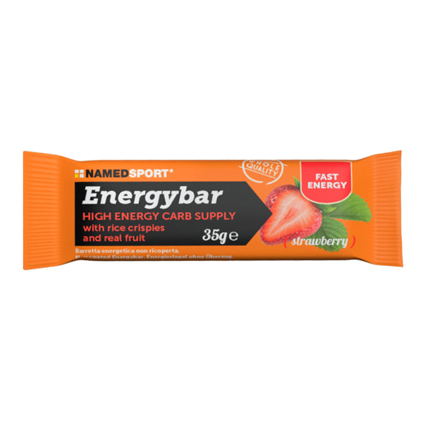 NamedSport Energy Bar Strawberry Bar