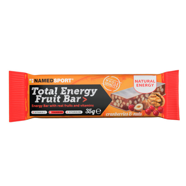 NamedSport Total Energy Fruit Bar Cranberries & Nuts Bar