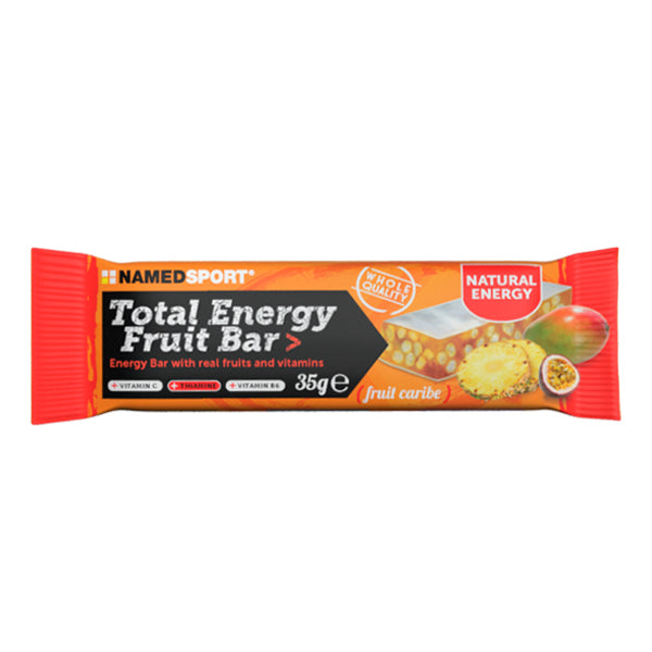 NamedSport Total Energy Fruit Bar Fruit Caribe Bar