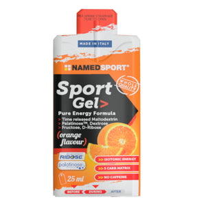 Named Pure Energy Gel Orange Flavour