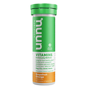 Nuun Hydration Vitamins Grapefruit Orange
