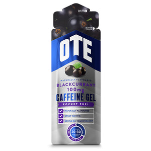 OTE Blackcurrant Energy Gel With Caffeine