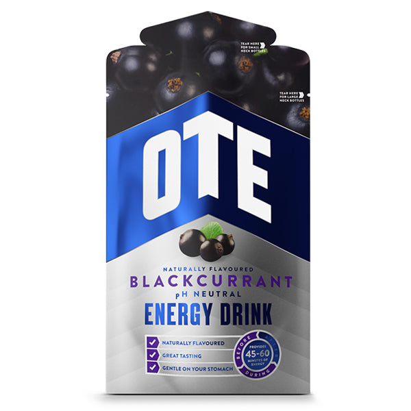 OTE Blackcurrant Energy Drink Sachets