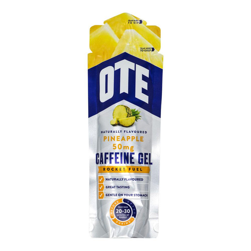 OTE Pineapple Energy Gel With Caffeine