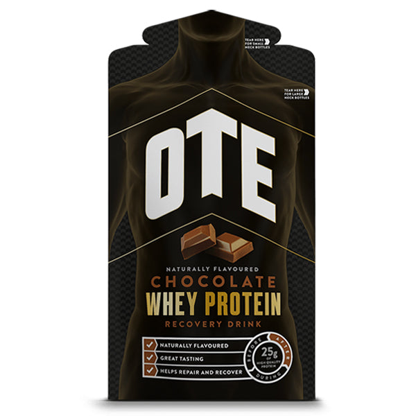 OTE Chocolate Whey Protein Recovery Drink Sachets